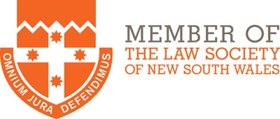Member of the Law Society on NSW